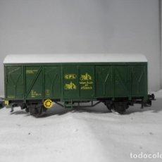 Trenes Escala: VAGÓN CERRADO ESCALA HO DE MARKLIN. Lote 235130045