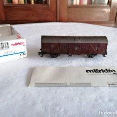 Treni in Scala: MÄRKLIN H0 4703 VAGÓN DE MERCANCÍAS DB GEP II NUEVO OVP. Lote 235165275