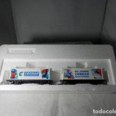 Trenes Escala: SET VAGONES ESCALA HO DE MARKLIN. Lote 235541925