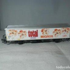 Trenes Escala: VAGÓN CERRADO ESCALA HO DE MARKLIN. Lote 235937590