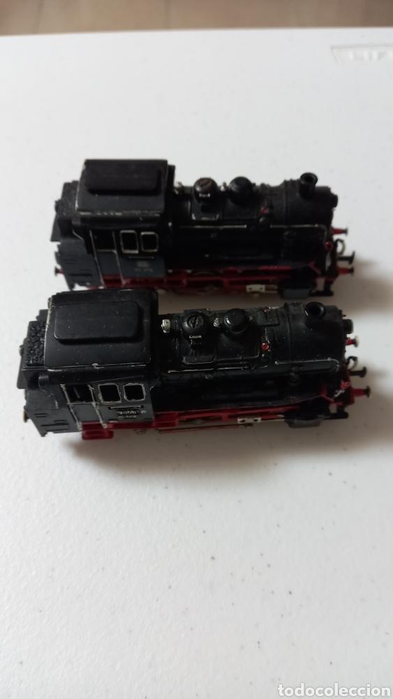2 LOCOMOTORAS VAPOR HO DE MARKLIN BUEN ESTADO (Juguetes - Trenes a Escala - Marklin H0)