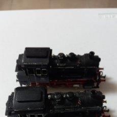 Trenes Escala: 2 LOCOMOTORAS VAPOR HO DE MARKLIN BUEN ESTADO. Lote 236009835