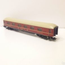 Trenes Escala: JIFFY VENDE VAGON MARKLIN H0 DSG SCHLAFWAGEN. TOTALMENTE METÁLICO.. Lote 203301103