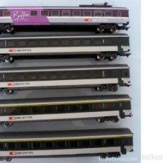 Trenes Escala: 5 COCHES MARKLIN - FOTO 068- VER DESCRIPCION. Lote 240286025