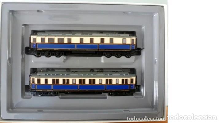 Trenes Escala: Marklin Ref. 2881- Foto 017- 2 coches- con luz y embalaje original - Foto 2 - 240978235