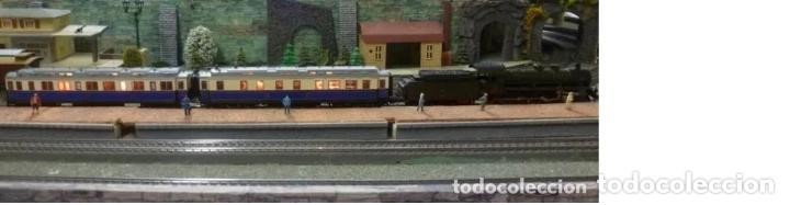 Trenes Escala: Marklin Ref. 2881- Foto 017- 2 coches- con luz y embalaje original - Foto 3 - 240978235