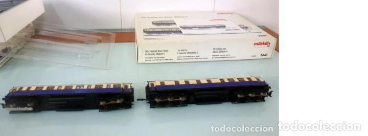Trenes Escala: Marklin Ref. 2881- Foto 017- 2 coches- con luz y embalaje original - Foto 4 - 240978235