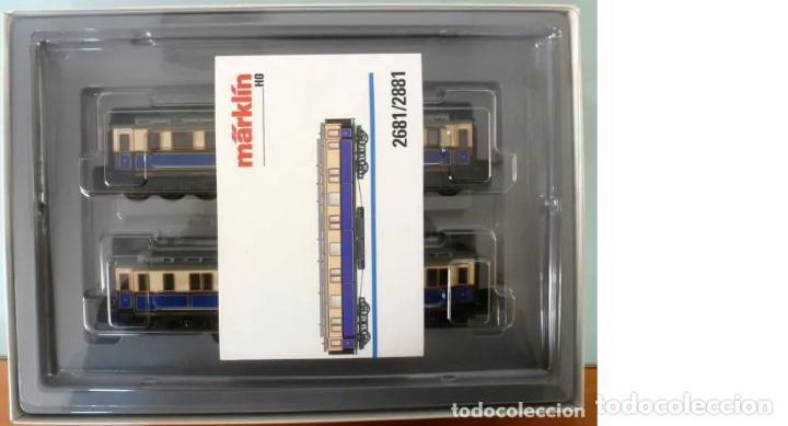 Trenes Escala: Marklin Ref. 2881- Foto 017- 2 coches- con luz y embalaje original - Foto 5 - 240978235