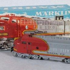 Trains Échelle: LOCOMOTORA AMERICANA DIESEL MARKLIN-AMERICAN DIESEL LOCOMOTIVE REF. 3060-CAJA ORIGINAL. Lote 241769865