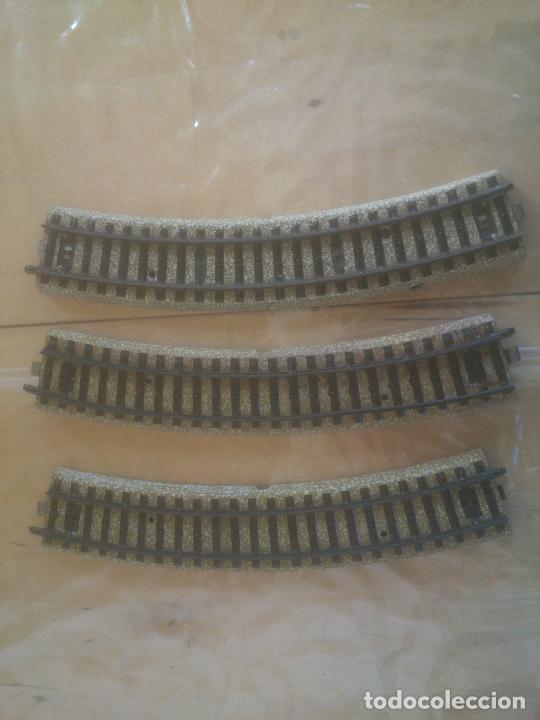 VIAS DE ELECTROTREN , REF. 188. TREN -CURVAS. (Juguetes - Trenes a Escala - Marklin H0)