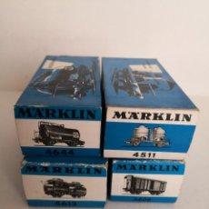 Trenes Escala: VAGON MARKLIN 4644, 4511, 4613, 4605 EN ESCALA H0.. Lote 244657740