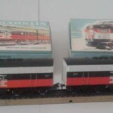 Trenes Escala: MÄRKLIN H0, PAR DE LOCOMOTORAS DIÉSEL 3062 Y 4062, USA NEW HAVEN 337, ENVIO 5,80 EUROS. Lote 244668695