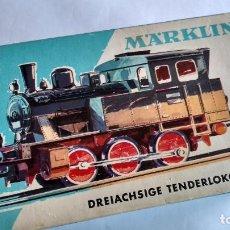 Trenes Escala: MARKLIN H0, LOCOMOTORA VAPOR REF 3029, EN CAJA. FUNCIONA. Lote 244693900