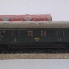 Comboios Escala: VAGÓN MÄRKLIN H0, OFICINA FEDERAL DE CORREOS DE ALEMANIA, 22 CM, ENVIO 4,80 EUROS, X23. Lote 244849735