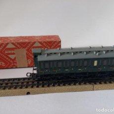 Comboios Escala: VAGÓN MÄRKLIN H0 DE 1960, 13 CM DE LARGO, ENVIO 4,50 EUROS, LOT X28. Lote 244857235