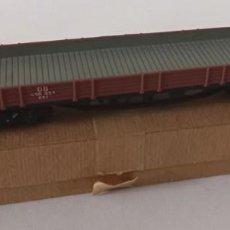 Comboios Escala: MÄRKLIN H0, 1 VAGÓN DE TRANSPORTE, 1960, CON CAJA ORIGINAL, 18 CM, ENVIO 4,80 EUROS, X36. Lote 244972780