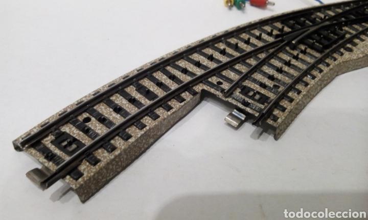 Trenes Escala: JIFFY VENDE DESVÍO CURVO MARKLIN 5141 H0 VÍA M DEL CONJUNTO 5140. LOTE INS25 - Foto 4 - 249332675