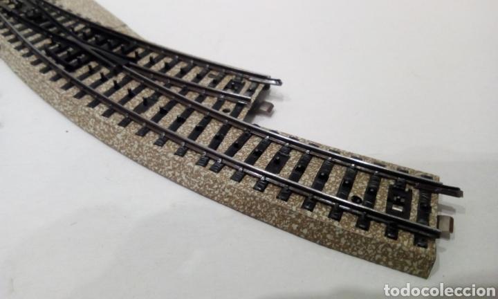 Trenes Escala: JIFFY VENDE DESVÍO CURVO MARKLIN 5141 H0 VÍA M DEL CONJUNTO 5140. LOTE INS25 - Foto 6 - 249332675