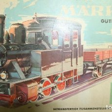 Trenes Escala: MÄRKLIN H0 2933 START CAJA , TREN DE CARGA CON VAGONES YTRANSFORMADOR VÍAS FERROCARRIL. Lote 250266400
