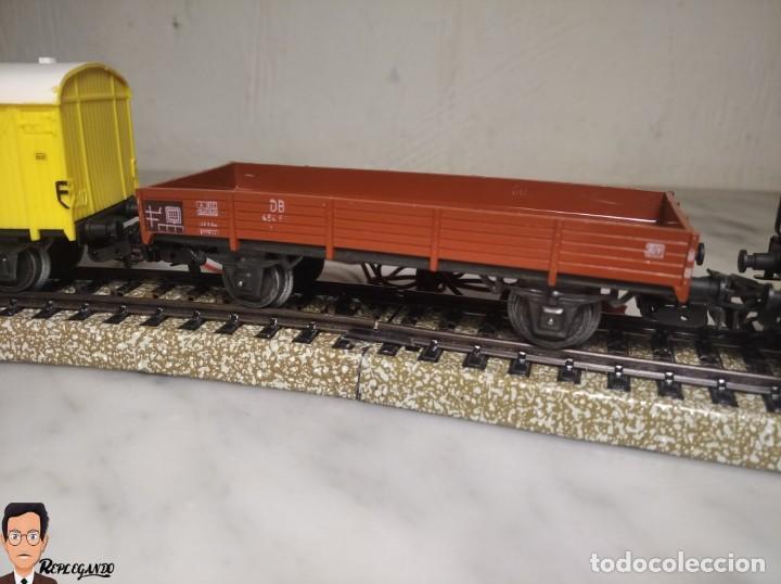 Trenes Escala: SET MARKLIN H0 REF: 3203 CON LOCOMOTORA DE VAPOR 24058 - MÁQUINA TREN - TRENES ESCALA - WEST GERMANY - Foto 8 - 278972258