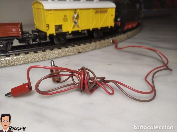 Trenes Escala: SET MARKLIN H0 REF: 3203 CON LOCOMOTORA DE VAPOR 24058 - MÁQUINA TREN - TRENES ESCALA - WEST GERMANY - Foto 10 - 278972258