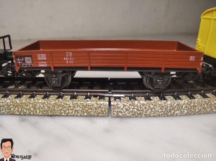 Trenes Escala: SET MARKLIN H0 REF: 3203 CON LOCOMOTORA DE VAPOR 24058 - MÁQUINA TREN - TRENES ESCALA - WEST GERMANY - Foto 12 - 278972258