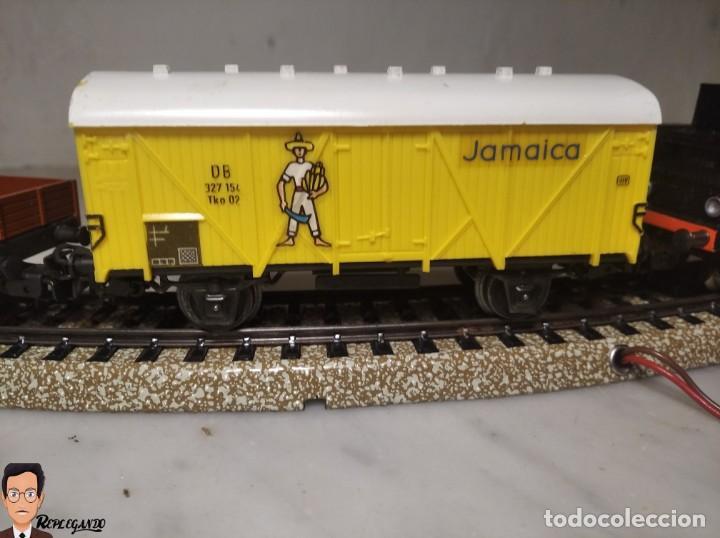 Trenes Escala: SET MARKLIN H0 REF: 3203 CON LOCOMOTORA DE VAPOR 24058 - MÁQUINA TREN - TRENES ESCALA - WEST GERMANY - Foto 13 - 278972258