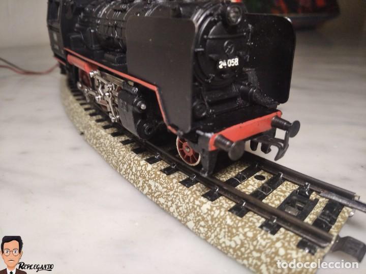 Trenes Escala: SET MARKLIN H0 REF: 3203 CON LOCOMOTORA DE VAPOR 24058 - MÁQUINA TREN - TRENES ESCALA - WEST GERMANY - Foto 17 - 278972258