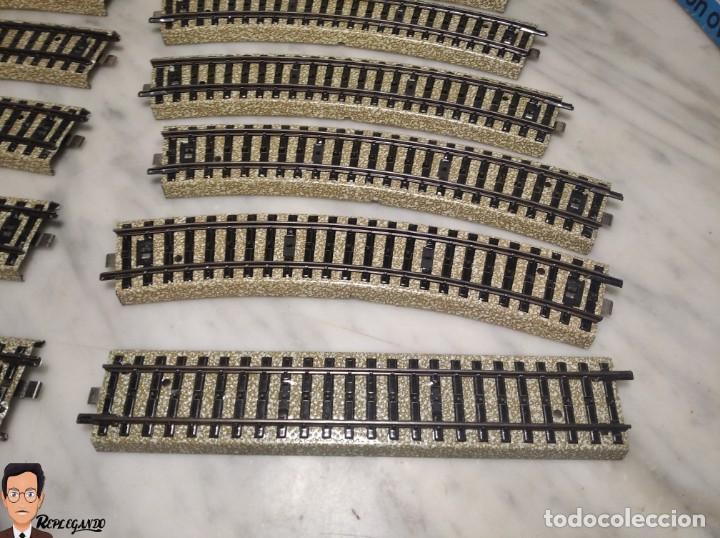 Trenes Escala: SET MARKLIN H0 REF: 3203 CON LOCOMOTORA DE VAPOR 24058 - MÁQUINA TREN - TRENES ESCALA - WEST GERMANY - Foto 39 - 278972258