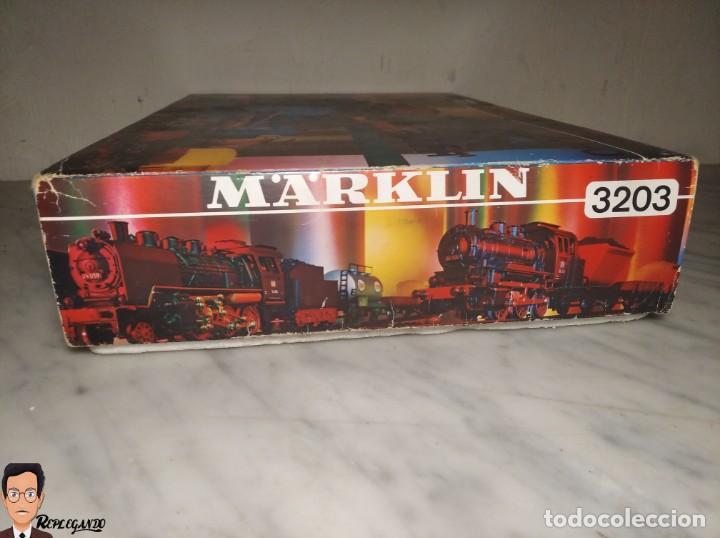 Trenes Escala: SET MARKLIN H0 REF: 3203 CON LOCOMOTORA DE VAPOR 24058 - MÁQUINA TREN - TRENES ESCALA - WEST GERMANY - Foto 47 - 278972258