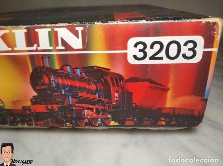 Trenes Escala: SET MARKLIN H0 REF: 3203 CON LOCOMOTORA DE VAPOR 24058 - MÁQUINA TREN - TRENES ESCALA - WEST GERMANY - Foto 51 - 278972258