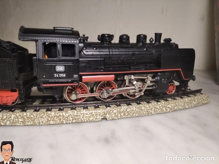Trenes Escala: SET MARKLIN H0 REF: 3203 CON LOCOMOTORA DE VAPOR 24058 - MÁQUINA TREN - TRENES ESCALA - WEST GERMANY - Foto 52 - 278972258