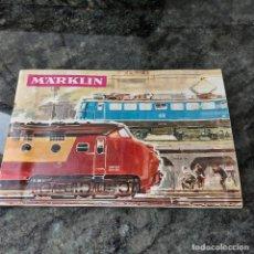Trenes Escala: CATÁLOGO-ORIGINAL.**MARKLIN**EN CASTELLANO 66 PAGINAS(COLOR)—AÑO 1965--- COMPLETO+ COLECCION-TREN. Lote 251842325
