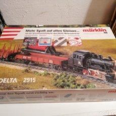 Comboios Escala: MARKLIN H0 DELTA 2915 - COMPLETO Y EN PERFECTO ESTADO. Lote 252505865