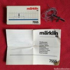 Trenes Escala: MÄRKLIN HO 7555 - CONTACTO RED / INTERRUPTOR - CAJA ORIGINAL, SIN ESTRENAR - PJRB. Lote 253821745