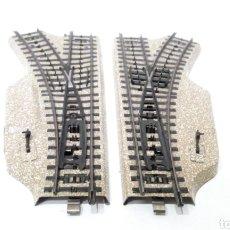 Trenes Escala: JIFFY VENDE PAREJA DESVIOS MARKLIN 5121 CON DESVIO 5122 Y 5123 VIA M H0. LOTE TISS1012. Lote 231988300