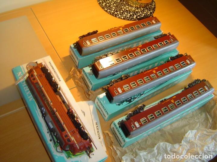 Trenes Escala: Marklin. Tren con locomotora 3068 y vagones 4x4045 - Foto 5 - 255986410