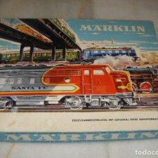 Trenes Escala: MARKLIN 3205. SET AÑOS 60. COMPLETO.. Lote 259780460