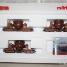 Trenes Escala: A ESTRENAR VAGONES MINEROS DE MARKLIN. Lote 260323740