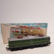 Trenes Escala: MARKLIN LOCOMOTORA ELECTRICA REF 3036 EN CAJA ORIGINAL Y GRAN ESTADO. Lote 260418080