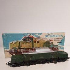 Trenes Escala: MARKLIN LOCOMOTORA ELECTRICA REF 3022 E 94 EN CAJA ORIGINAL Y GRAN ESTADO. Lote 260419115