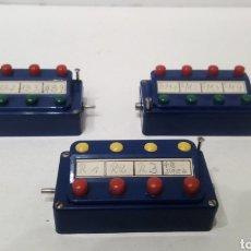 Trenes Escala: JIFFY VENDE 3 UNIDADES DE PUPITRE DE CONTROL MARKLIN 7072 (2) Y 7210 (1). MANDO MARKLIN. Lote 261943070