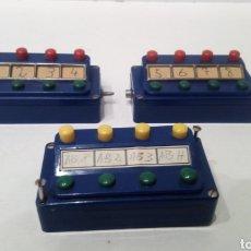 Trains Échelle: JIFFY VENDE 3 UNIDADES DE PUPITRE DE CONTROL MARKLIN 7072 (2) Y 7211 (1). MANDO MARKLIN. Lote 261943890