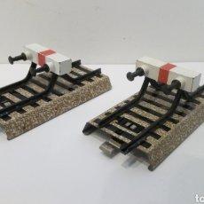 Trenes Escala: JIFFY VENDE 2 UNIDADES DE TOPERA MARKLIN 7190 VIA M H0. TOPE FIN DE VÍA. T50805. Lote 231025055