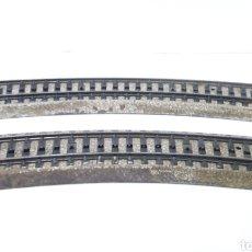 Trenes Escala: JIFFY VENDE DOS UNIDADES DE VÍA M CURVA MARKLIN 5206 H0. LOTE 080521. Lote 261978175