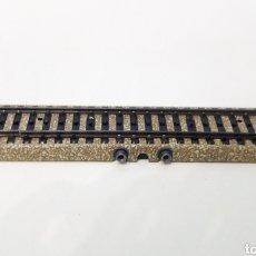 Trenes Escala: JIFFY VENDE VÍA M RECTA MARKLIN 5105 H0 DE CONTACTO Y CONMUTACIÓN. LOTE 050822. Lote 261979495