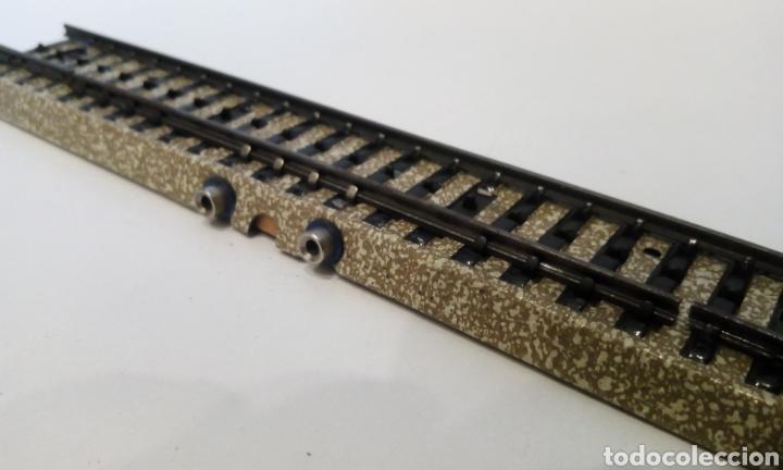 Trenes Escala: JIFFY VENDE VÍA M RECTA H0 MARKLIN 5105 DE CONMUTACIÓN. LOTE 080523 - Foto 2 - 261980015
