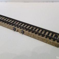 Trenes Escala: JIFFY VENDE VÍA M RECTA H0 MARKLIN 5105 DE CONMUTACIÓN. LOTE 080523. Lote 261980015