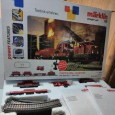 Trenes Escala: TREN BOMBERO MARKLIN ESCALA H0 REF.29722 EN CAJA ORIGINAL SIN USO. Lote 262641800