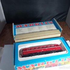 Trenes Escala: AUTOMOTOR DE LA DB ESCALA HO DE MARKLIN. Lote 262880245